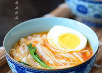 圖文教程:自制番茄湯面的做法