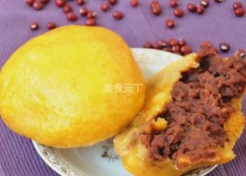 圖文教程:自制玉米面豆沙包的做法