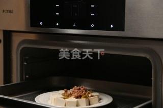 图示做法:肉末蒸豆腐的手工制作