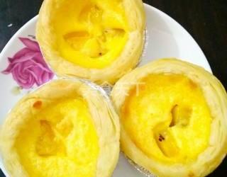 獼猴桃蛋撻的手工制作法(圖)