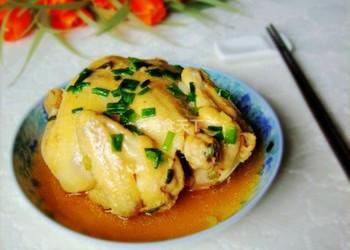 清蒸雞的廚房手工烹制(圖文)