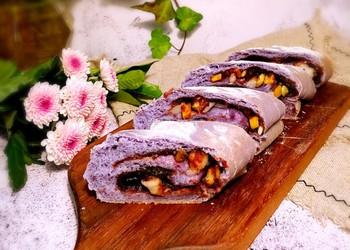 (圖)堅果麻薯豆沙軟歐的手工制作法