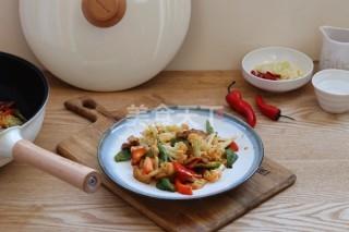 圖文:干鍋花菜的廚房手工烹制