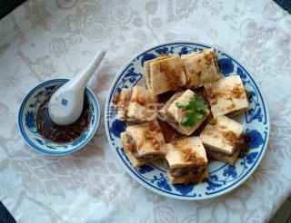 圖文教程:蒸釀凍豆腐的手工烹制法
