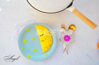 手工制作月亮蛋包飯的圖文演示流程