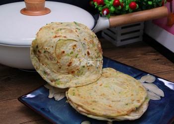 (圖文)蔥油烙餅的手工制作法