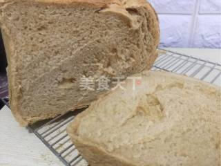 面包機版紅糖全麥面包的圖示做法