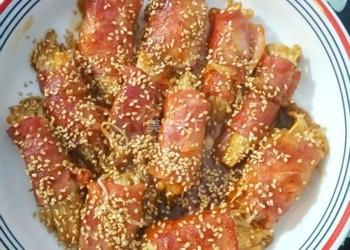 培根卷金针菇的图示烹制方法