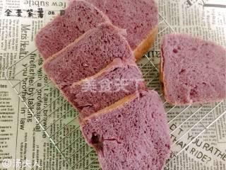 烘焙:全麦紫薯吐司的图解手工制作
