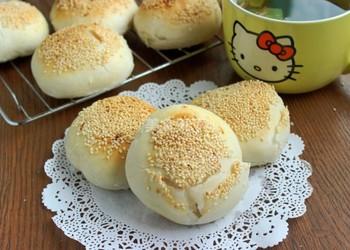 白糖椰蓉酥餅的圖示做法(烘焙手工廚藝)