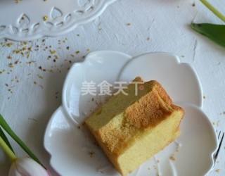 小米粉戚風蛋糕的圖示手工做法