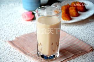 (圖示流程)芋圓奶茶的手工做法