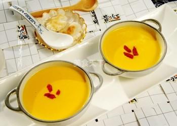 牛奶南瓜羹(湯羹)的圖文演示做法