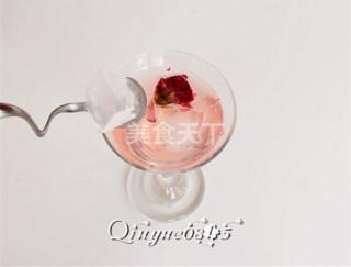 (圖示)水蜜桃味果凍雞尾酒的手工做法