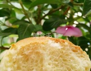 花朵面包的图示自制做法