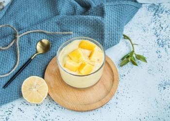 自制大果粒芒果香蕉酸奶的方法(图示)