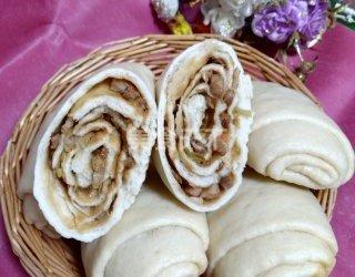 肉卷饅頭(主食)的手工做法