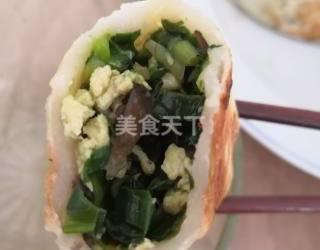 主食:鮮韭菜合子的圖示家廚做法