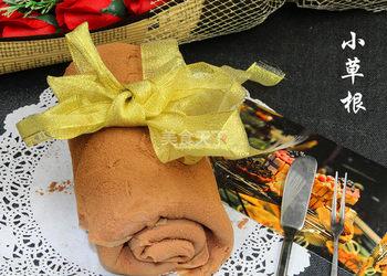 手工烘焙:网红毛巾卷的图解制作