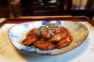 酱烧鸡翅的手工厨艺做法