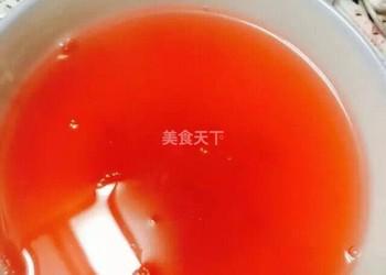 圖解:玫瑰山楂茶(果汁)的手工做法