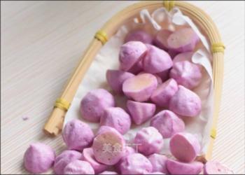 手工自制紫薯酸奶溶豆的方法(圖文演示)