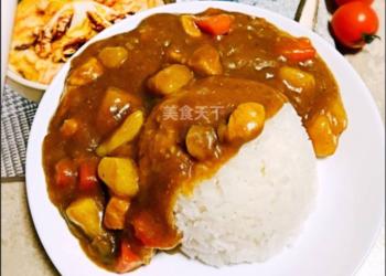 怎么做地道的日式咖喱雞飯?