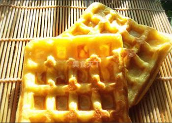 农家厨艺:华夫饼的手工制作方法