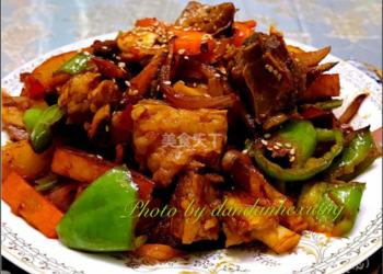 圖文教程:辣炒羊排的農家烹制方法