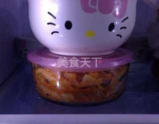 農產加工:韓國泡菜的圖示做法