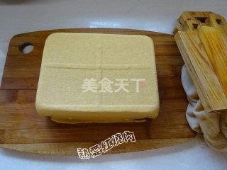 枸杞卤水豆腐的手工做法(农产加工)