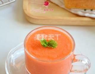 果蔬汁:紅柚胡蘿卜汁的圖示手工做法