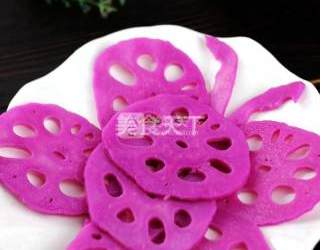 農產加工:酸辣胭脂藕片的手工做法(圖文)