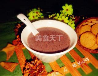 紫米红豆薏米糊(饮品)的手工制作