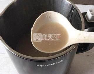 飲品:栗子莜麥米糊的圖示制作方法
