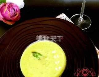 蘆筍蘑菇奶油濃湯(湯羹)的圖解制作