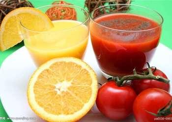 番茄橙汁的手工做法(圖文)