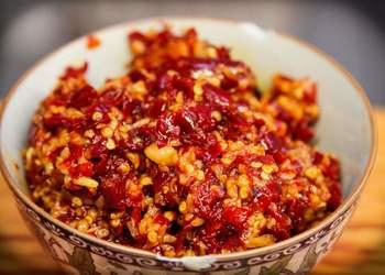 自然醇香的辣椒醬制作方法(不加香料)